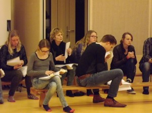 Romeo en Julia ... mar dan oars repetitie